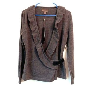 Fenn Wright Mason Gray Sweater